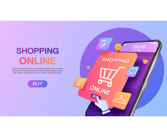 Online store mobile design