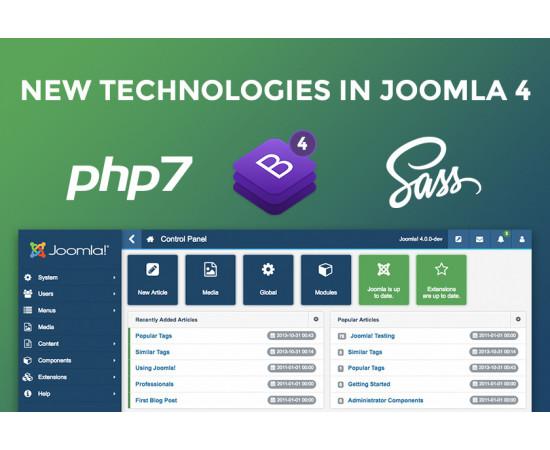 Joomla Web dizaina izstrāde vai Joomla 4.0