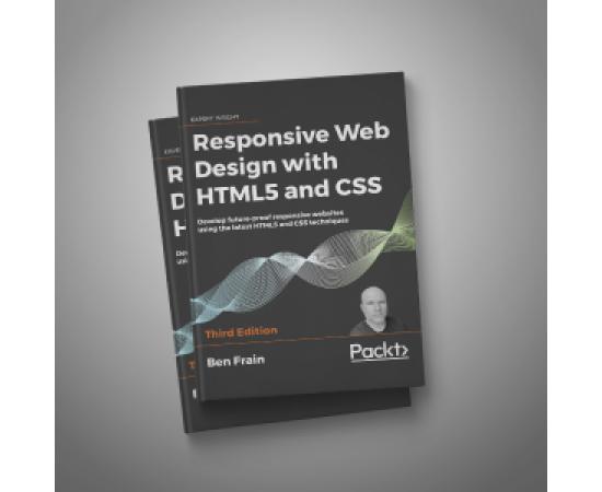 "Книга ""Адаптивный веб-дизайн"" 2020 HTML5, CSS (на английском языке) (408 стр.)"