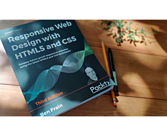Book Responsive Web Design 2020 HTML5, CSS (in English) (408 pages)