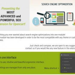 Pilnīga SEO pakete - labākais SEO paplašinājums priekš opencart (1 license)