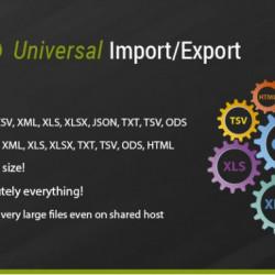 Opencart universāls vairumtirgotāju importa eksporta modulis (licence atslēga 1 domēnam)
